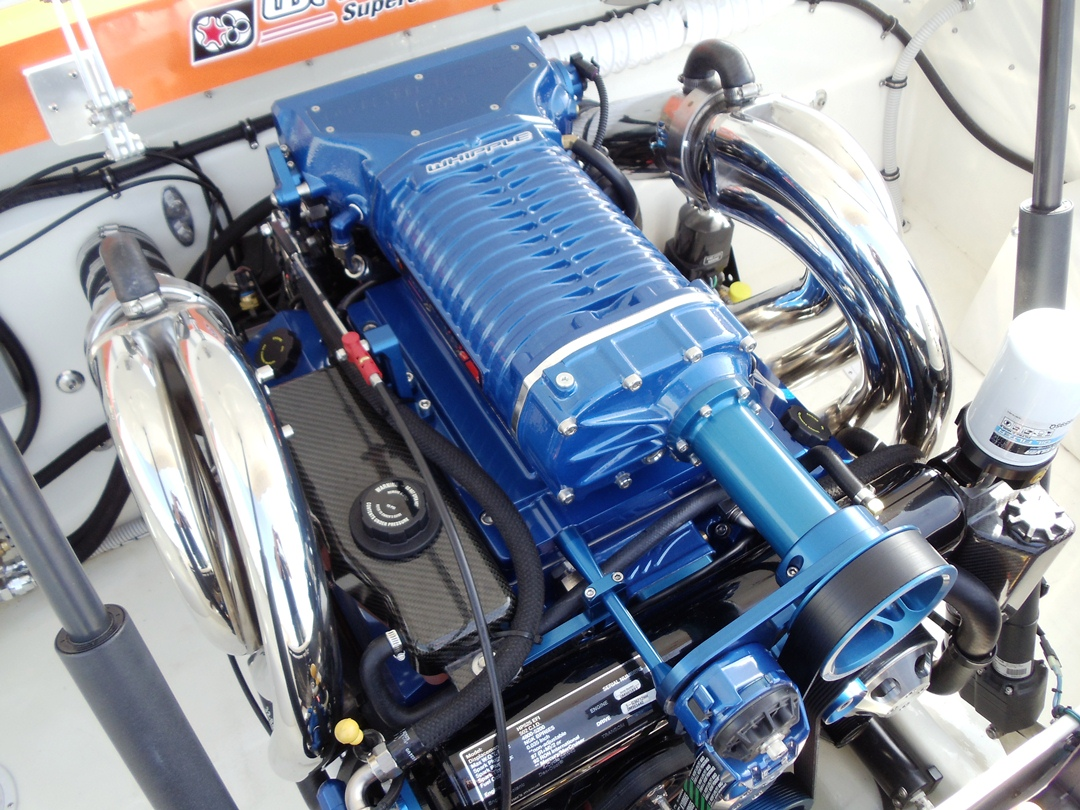 Mercury Racing 525HP EFI Whipple SC Kit