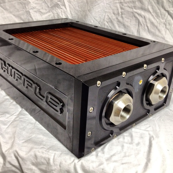 Whipple Superchargers Dealers: MARINE :: INTERCOOLER SYSTEMS :: DOUBLE WHIPPLE COOLER