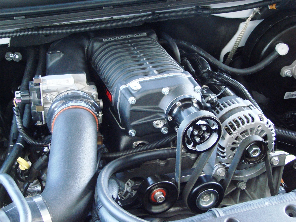 All Chevy 4.8 chevy engine : Whipple Supercharger system for 2007-2013 GM LS Truck/SUV Engines