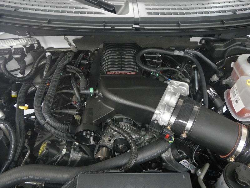 whipple ford raptor supercharger system
