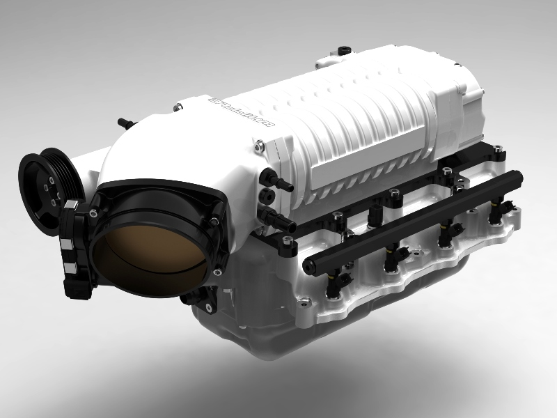 2011 2014 Whipple Twin Screw Stage 1 Supercharger System