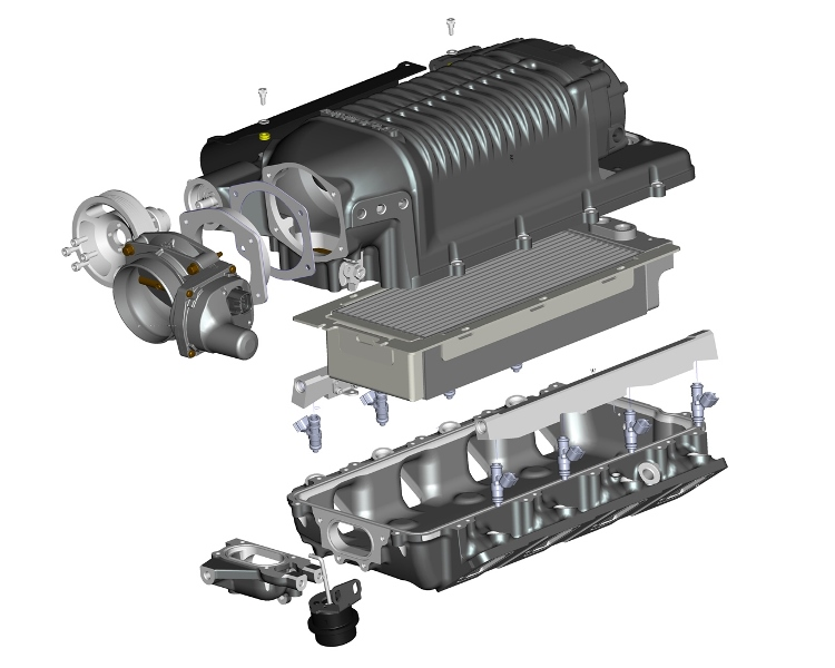 AUTOMOTIVE :: SUPERCHARGER SYSTEMS :: GM LS UNIVERSAL FRONT