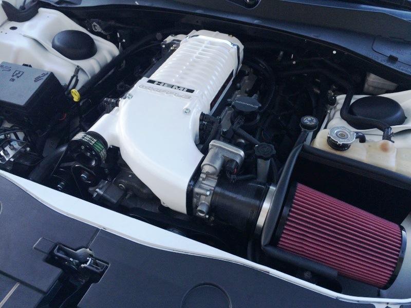 Whipple Superchargers Chyrsler 300 SRT8 Supercharger System