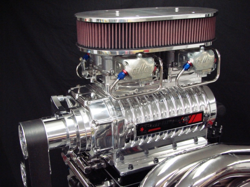 AUTOMOTIVE :: SUPERCHARGER SYSTEMS :: HOT ROD SUPERCHARGER