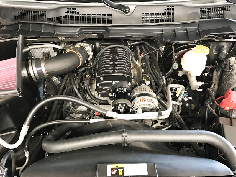 Whipple Superchargers Dodge Ram Cold Air Kit