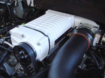 White whipple supercharger ford f150