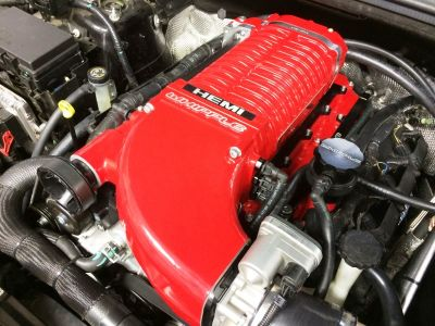whipple twin screw supercharger for jeep srt