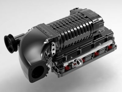Whipple Hemi twin screw supercharger