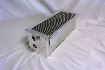 whipple mustang oversized intercooler core for ford mustang