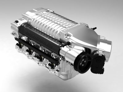 Ford Coyote 5.0L F150 Supercharger system