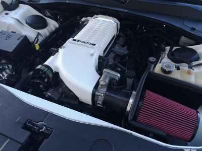 Whipple hemi cold air kit