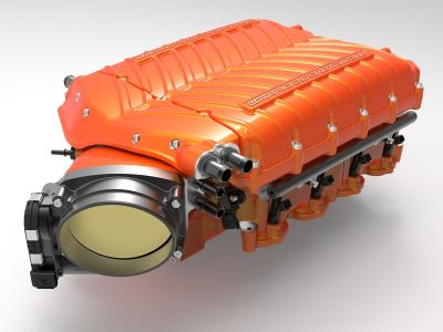 whipple gen 5 supercharger orange