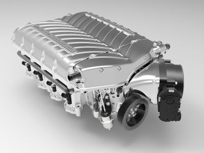 Whipple twin screw S550 supercharger